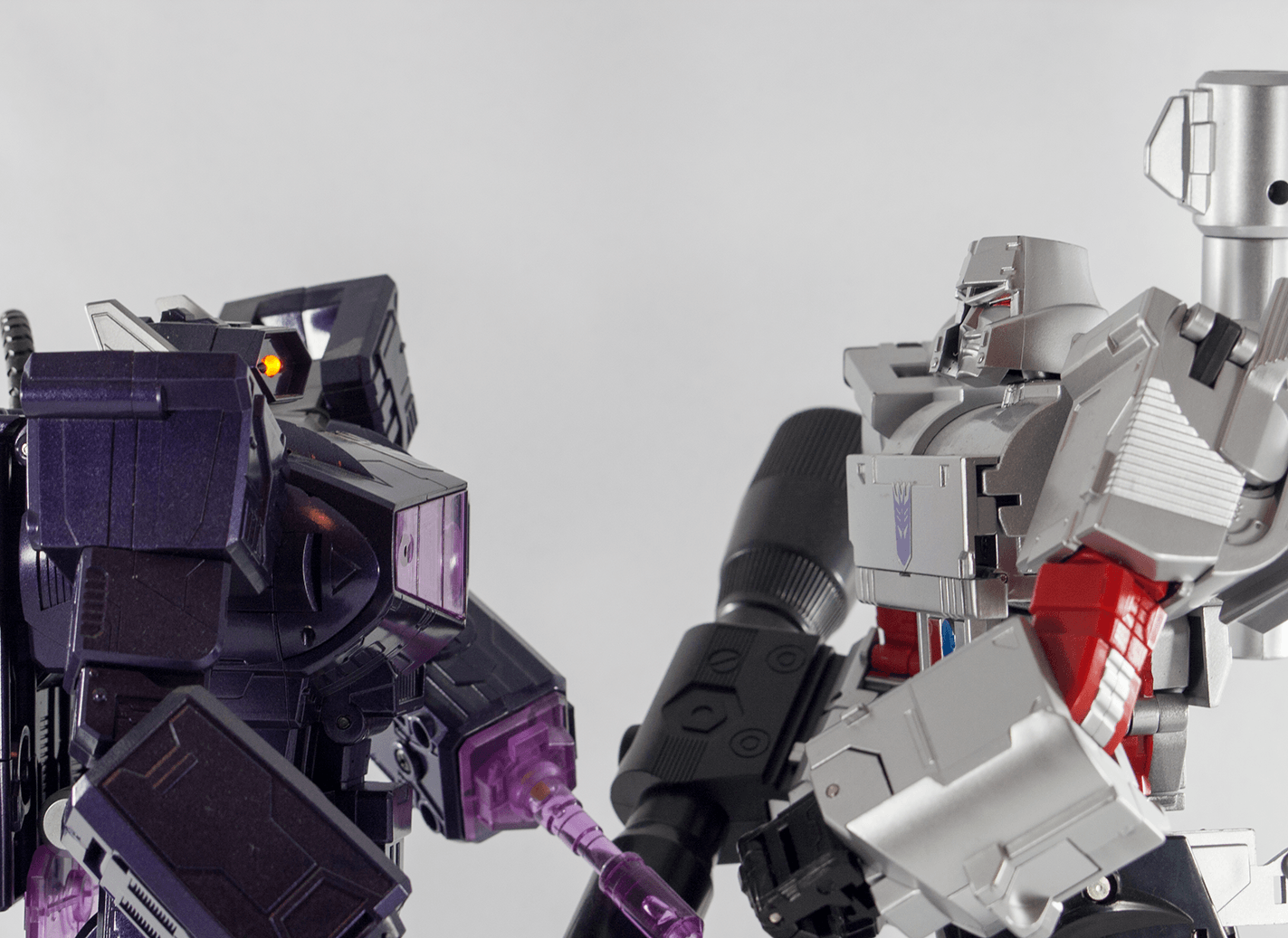Megatron and Shockwave