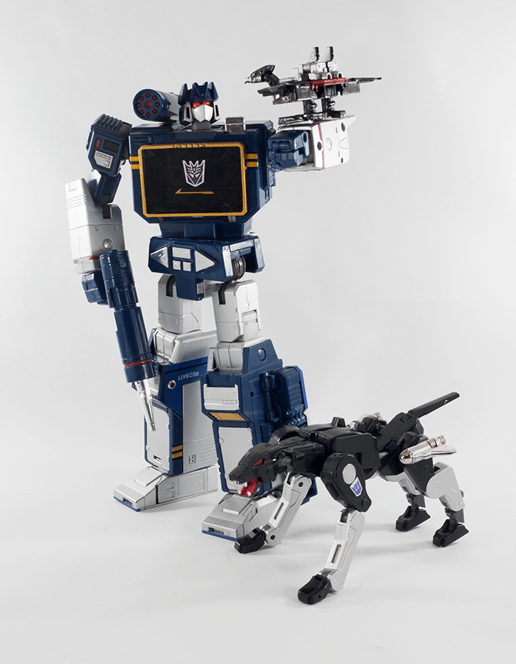 Soundwave and friends