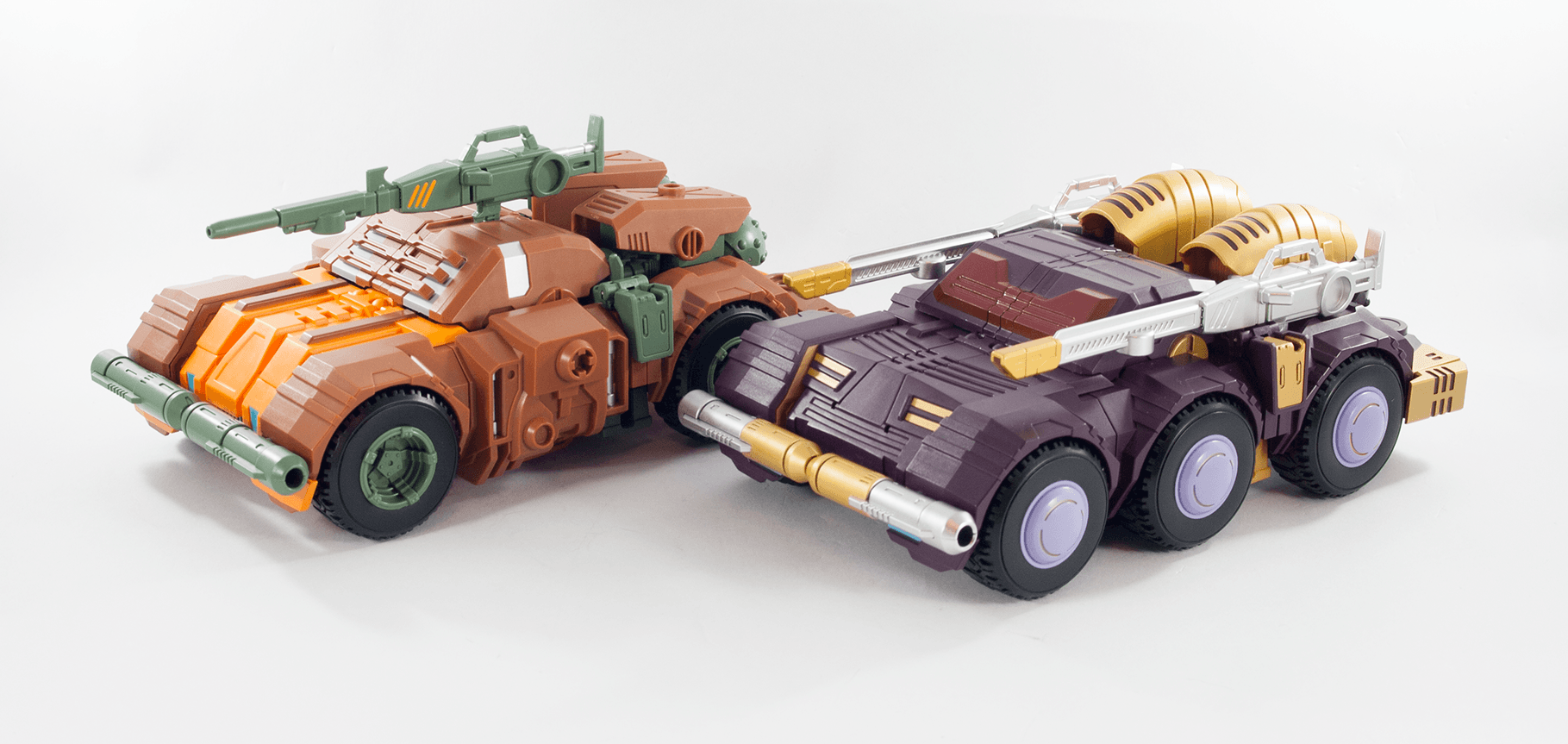 Roadbuster and Strika alt modes