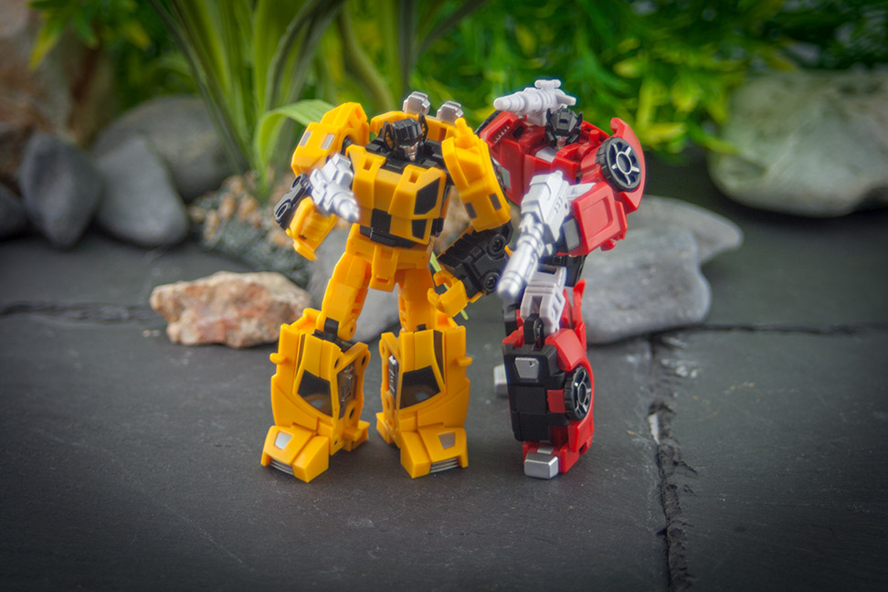 Iron Factory Racing Bros - Sideswipe ans Sunstreaker